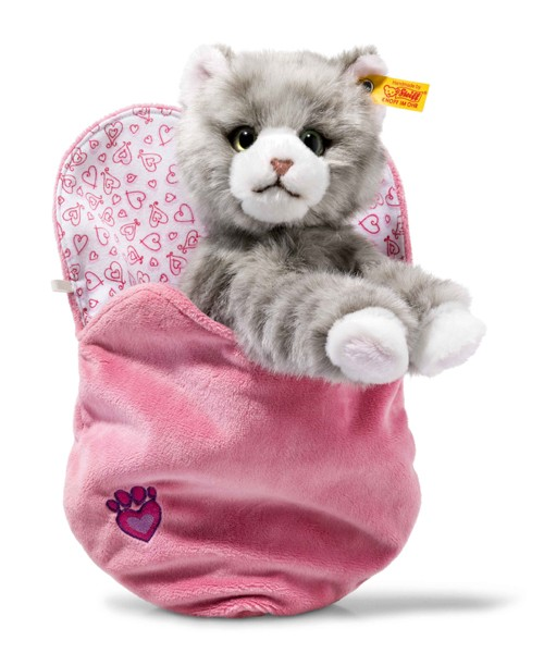 Cindy Cat in Heart Bag 099304