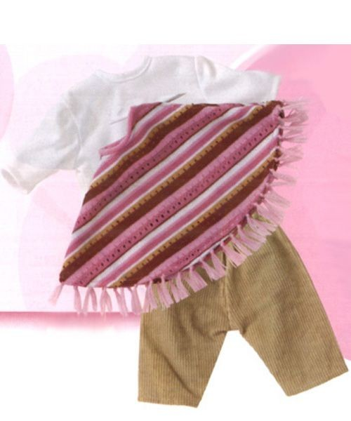 Baby Poncho Outfit 3401305